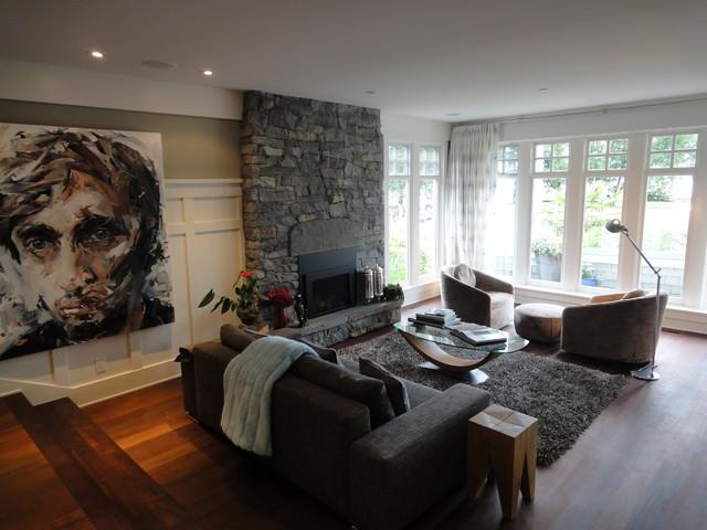 Jericho Beach modern-living-room