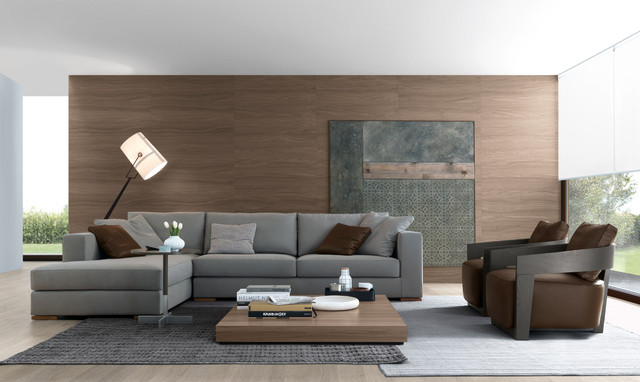 Jesse Chicago living space - Contemporary - Living Room - Chicago ...