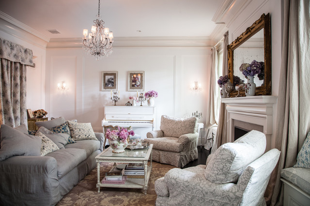 Jessica Simpson Home Shabby Chic Style Living Room