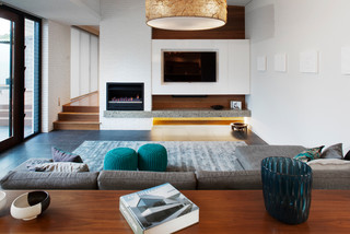 Jetmaster Fireplaces Wa Contemporary Living Room