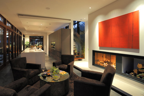 modern living room by Architects Magnus