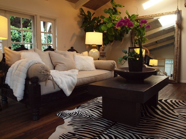 jhula sofa and daybed mediterranean living room los