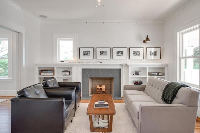 JIM ARNAL SIGNATURE HOME #1- NE 45TH & SISKIYOU craftsman living room