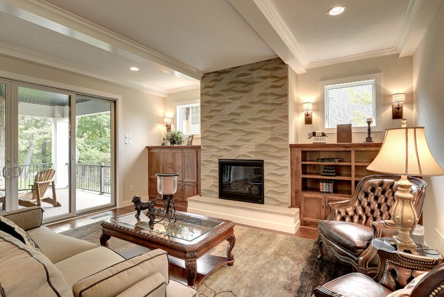 Jms Custom Homes Fireplace Surround Transitional Living Room Other By Fantasia Showrooms