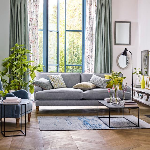 John Lewis Modern Country Living Room カントリー-居間