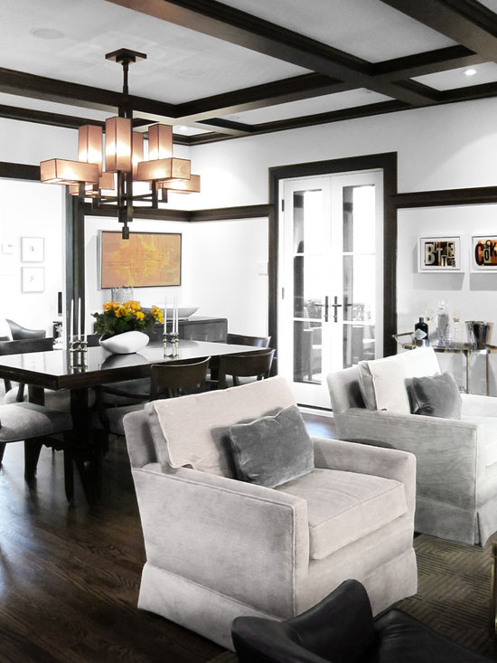 Contemporary Trim Home Design Ideas, Pictures, Remodel and Decor