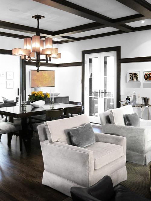 Modern Living Room by Toronto Interior Designers & Decorators Croma Design Inc