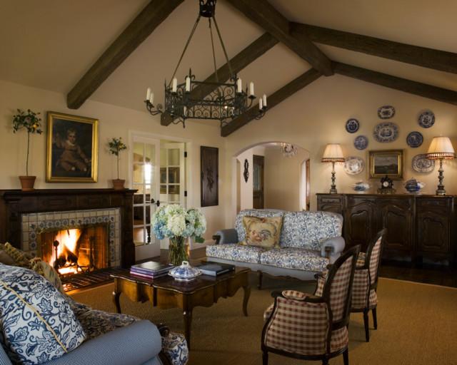 JonaCollins.com French Provencal 2 Traditional Living Room