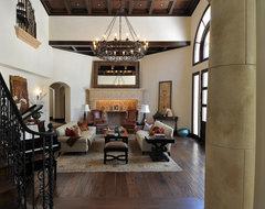 Joni Koenig Interiors mediterranean-living-room