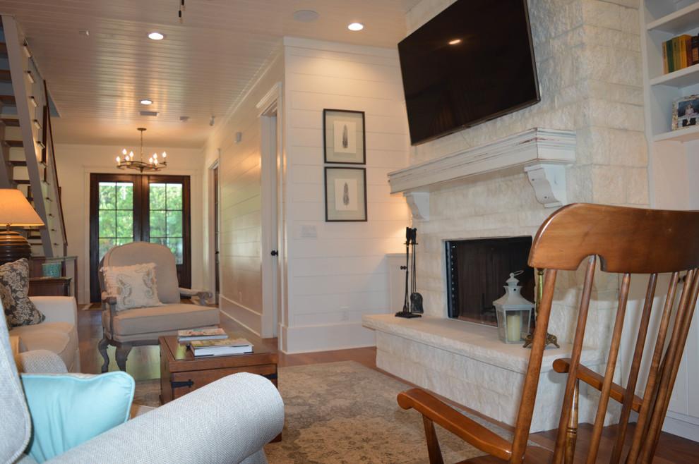 Living room - living room idea in Miami