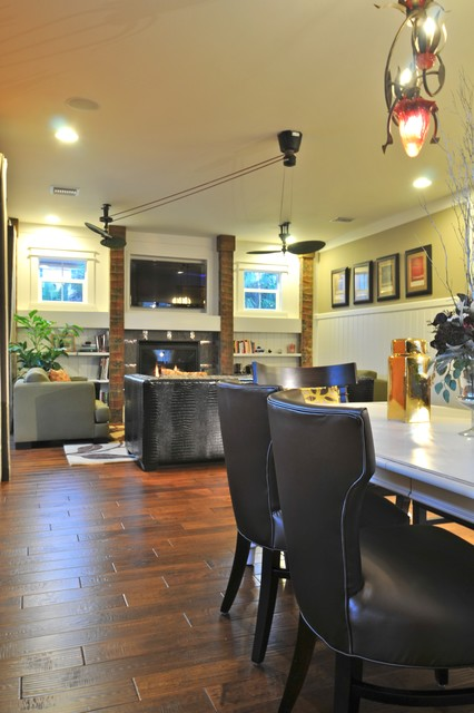 Josh Wynne Construction eclectic-living-room