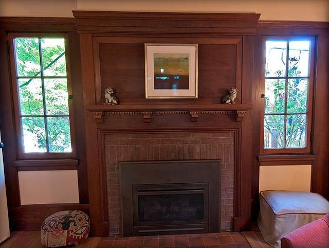 JULIA MORGAN RESTORATION craftsman-living-room