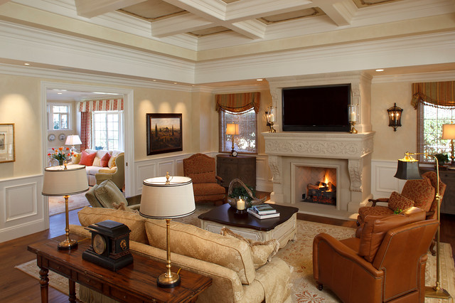 Julie Mifsud Interior Design traditional-living-room