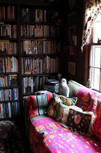 Julie's Houzz eclectic-living-room