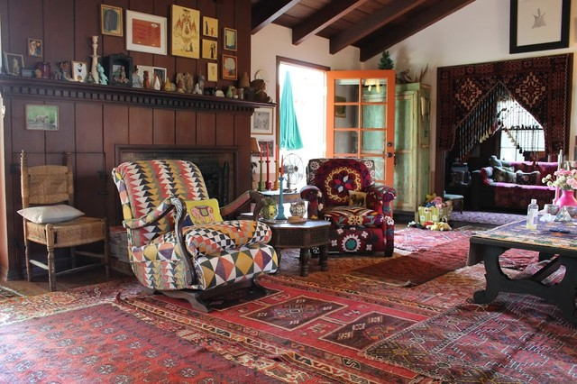 Julie's Houzz eclectic-living-room