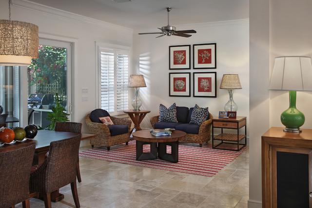 Jupiter contemporary living room miami by gil for Garden room jupiters