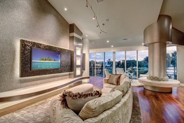 Jupiter Real Estate modern-living-room