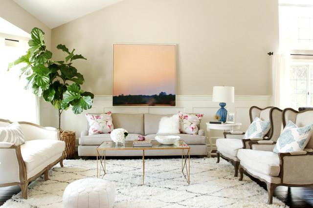 Just Plain Pretty Living Room Fusion, Pretty Living Rooms