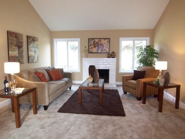Just the Fluff Interiors Portfolio contemporary-living-room