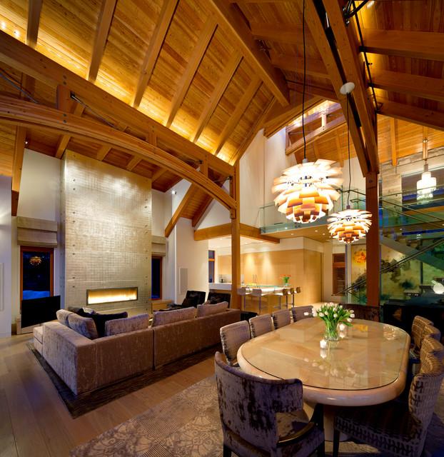 Kadenwood Residence contemporary-living-room