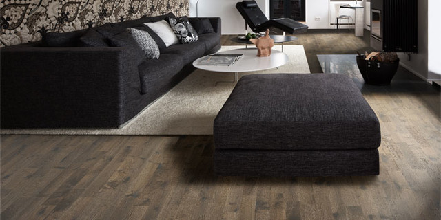Kahrs Hardwood Flooring Modern Living Room