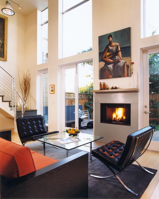 Kalmbach Residence modern-living-room