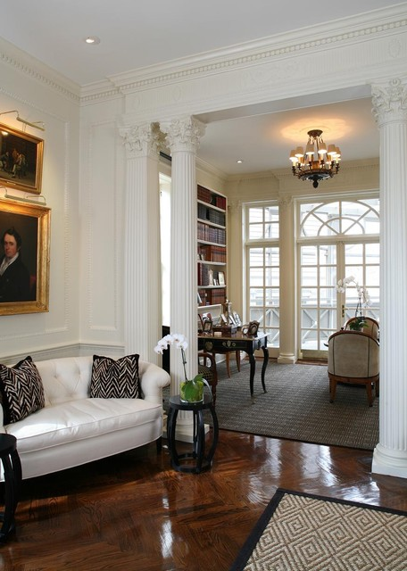 Kalorama residence traditional living room dc metro for Living room decorating ideas ireland