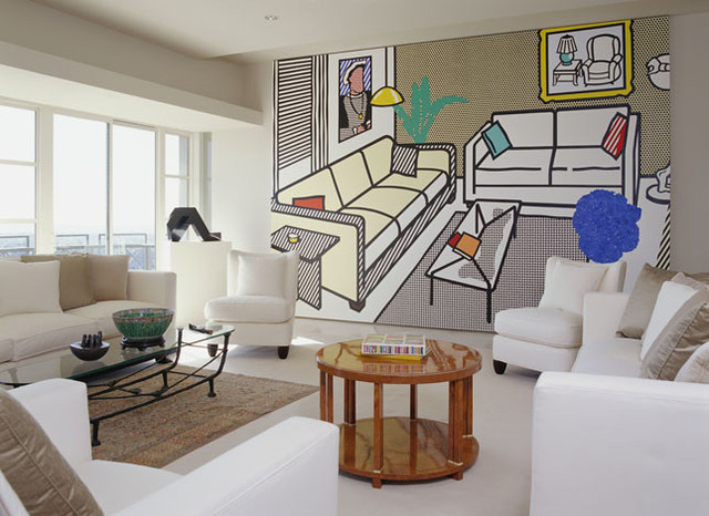 KANNER ARCHITECTS modern-living-room