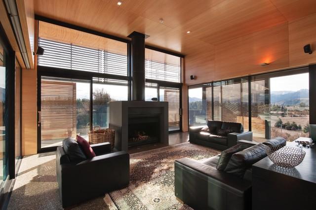 Kanuka Rise House Contemporary Living Room
