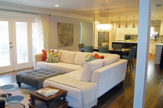 Outstanding Kara Weik C 2012 Houzz Transitional Living Room Dallas Ibusinesslaw Wood Chair Design Ideas Ibusinesslaworg