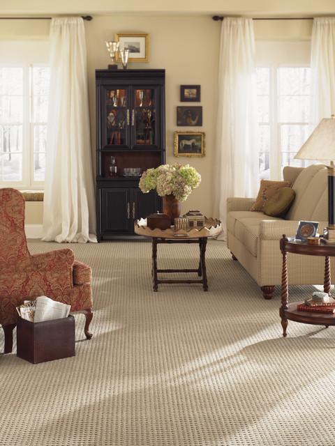 Karastan Living Room Carpet Traditional living room