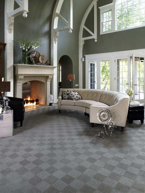 Karastan Living Room Carpet Contemporary living room