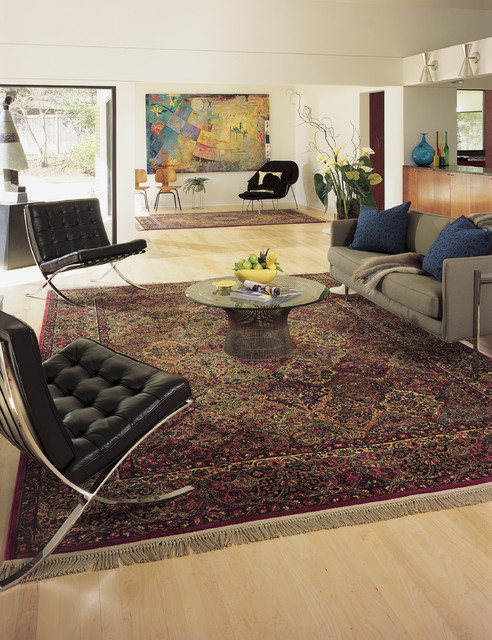Karastan Rugs Modern Living Room Other Metro By Pace Stone