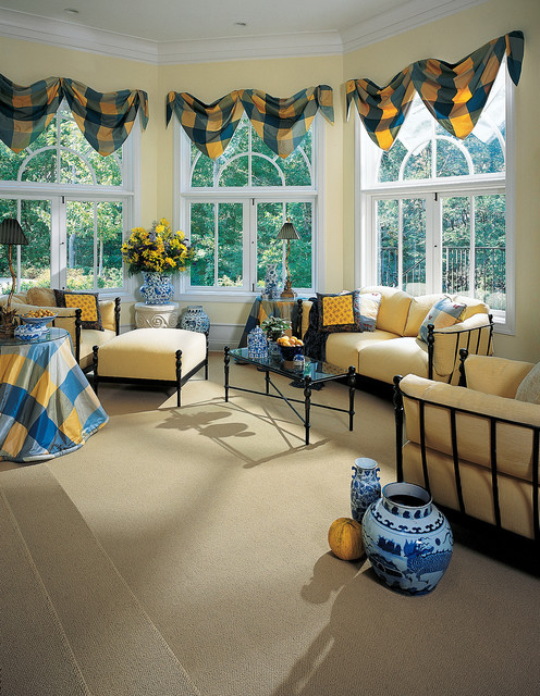 Karastan Sun Room Carpet Traditional living room