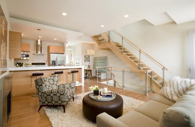 Karen Joy Interiors contemporary-living-room