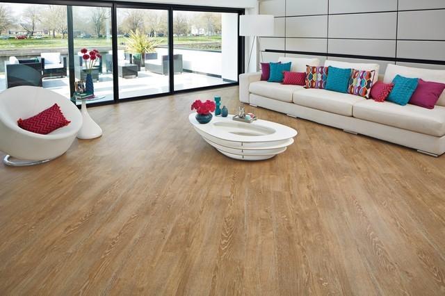Karndean Vinyl Van Gogh Honey Oak Modern Living Room