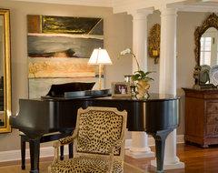 Kathleen Burke Design traditional-living-room