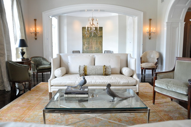 Kathleen Clements Design Traditional Living Room Los