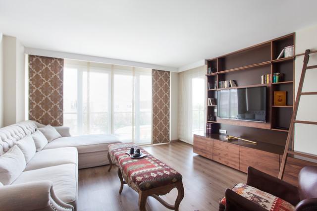 Kavakli Sample Apartment/Kavakli contemporary-living-room