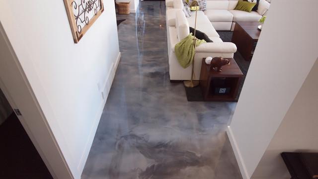 Kbs Coatings Merrit Contemporary Living Room