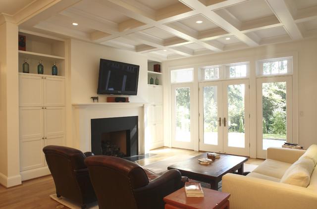 Keates Residence contemporary-living-room