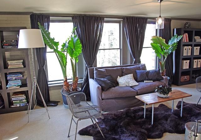 Keegan lower living room industrial-living-room