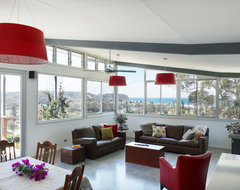Keir Residence contemporary-living-room