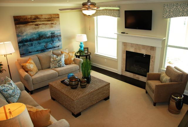 Kelly Pointe At Nocatee Traditional Living Room Jacksonville By Nocat