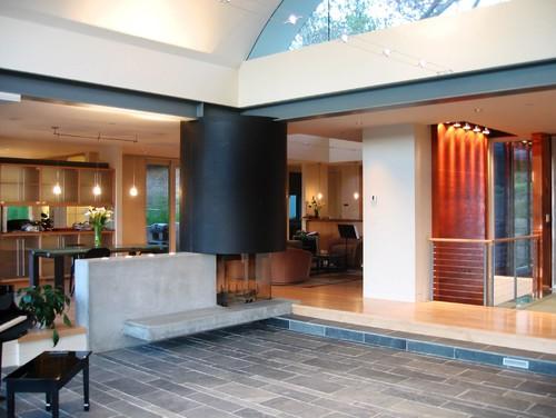 Kelly Residence modern living room
