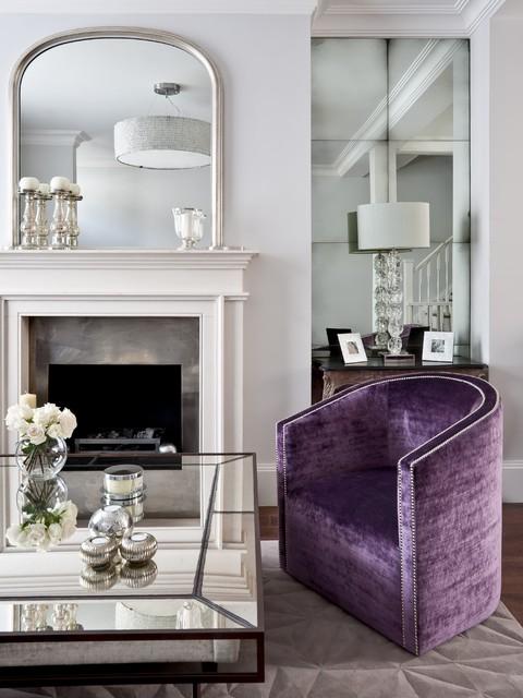 Living Room Sketch: Kensington Drawing Room