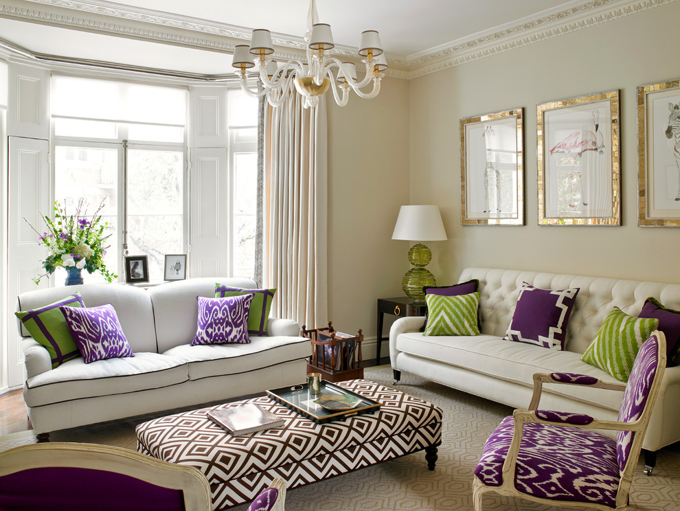 Kensington House - Traditional - Living Room - London - by ... on Clare View Beige Outdoor Living Room id=65370