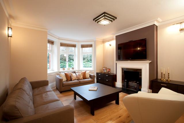 Kensington SW7: Escape in Hyde Park traditional-living-room