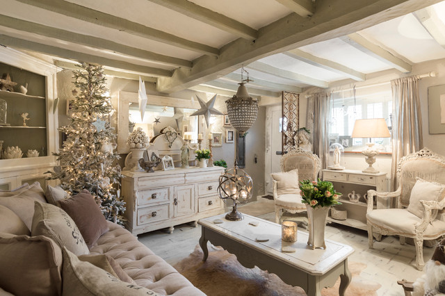Kent Cottage - Shabby-Chic Style - Soggiorno - Londra - di Chris Snook