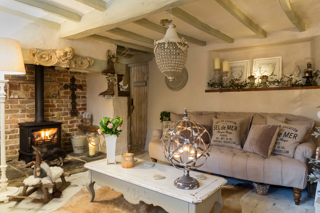 Kent Cottage - Shabby-chic Style - Living Room - London - by Chris Snook